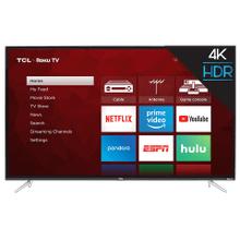 "TCL 50"" Class 4-Series 4K UHD HDR Roku Smart TV - 50S423"
