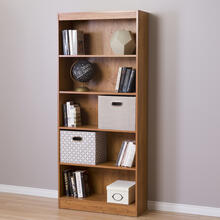 5-Shelf Bookcase - Country Pine