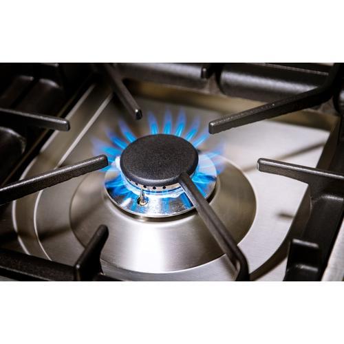 24 Inch Burgundy Natural Gas Freestanding Range