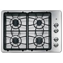 "See Details - GE® 30"" Built-In Gas Cooktop"