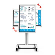 "Mobile Cart with Rotational Interface for the 55"" (WM55H, WM55R) and 65"" (WM65R*) Samsung Flip"