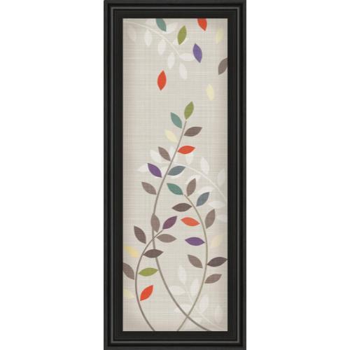 "Classy Art - ""Leaflets Il"" By Tandi Venter Framed Print Wall Art"
