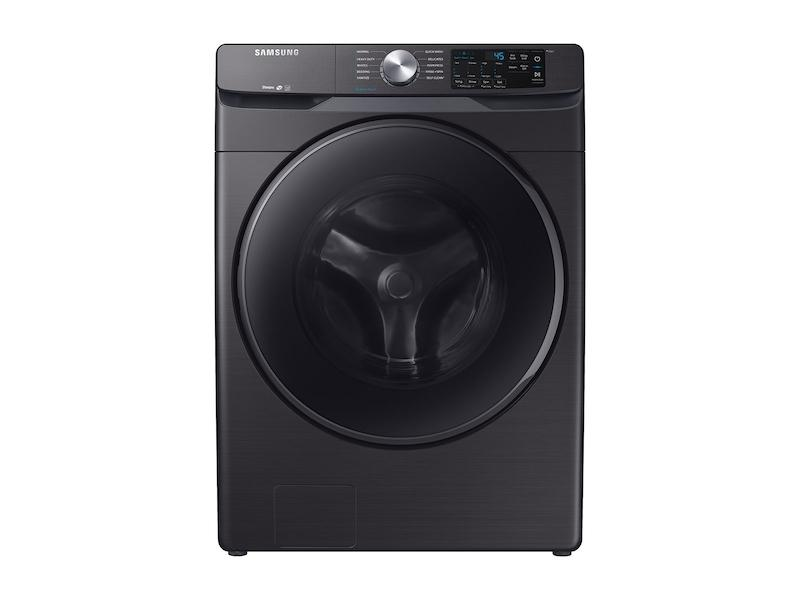 Samsung4.5 Cu. Ft. Front Load Washer With Steam In Black Stainless Steel