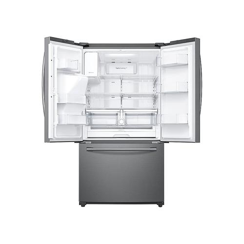 24 cu. ft. Family Hub™ 3-Door French Door Refrigerator in Stainless Steel