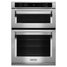 "Kitchenaid 30"" Stainless Steel Combination Wall Oven with Even-Heat™ True Convection (Lower Oven)"