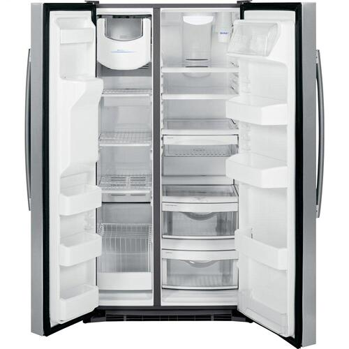 GE® 25.4 Cu. Ft. Side-By-Side Refrigerator