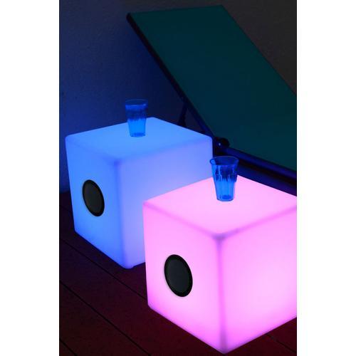 LED Cube with Speaker
