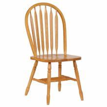 "See Details - Arrowback Dining Chair - Light Oak (38"")"