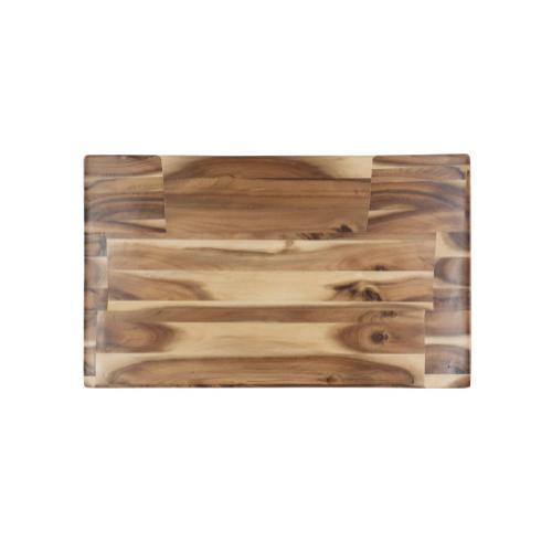 Saddle Counter Stool, Light Natural