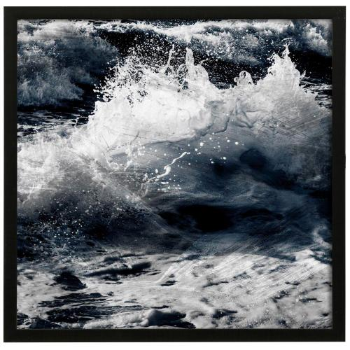 Style Craft - Gestured Motion I  32in X 32in Promotional Framed Print Under Glass  Ready to Hang