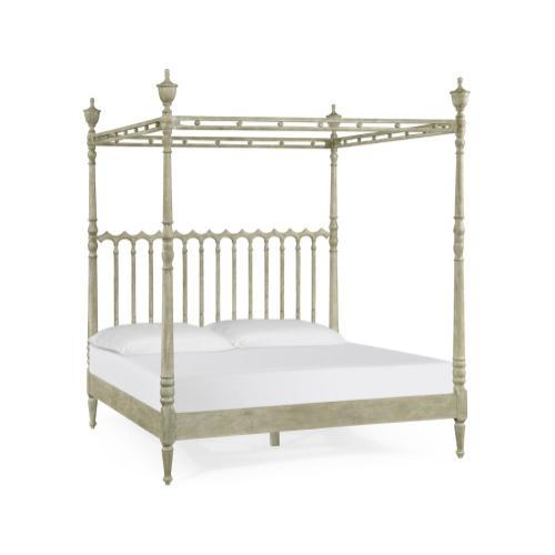 Morris' Grey Oak US King Bed