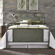 Queen Metal Bed - Green Product Image