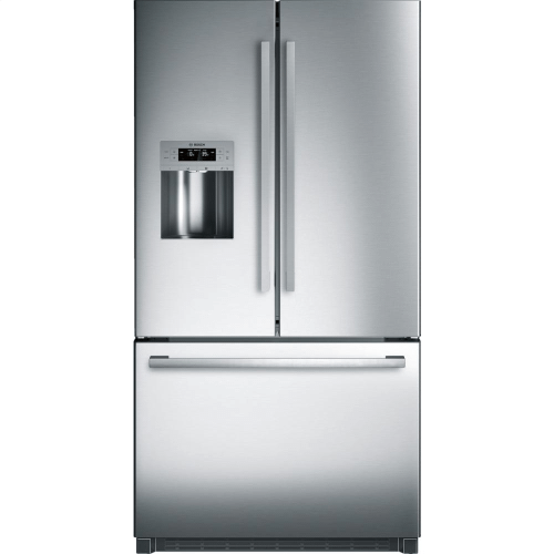 FLOOR MODEL BOSCH 36' Standard Depth French Door Bottom Freezer 800 Series - Stainless Steel