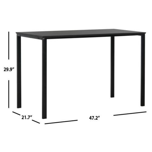 Dalit 47 - Inch Writing Desk - Black