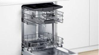 300 Series Dishwasher 60 cm Stainless steel, XXL SHEM53Z35C