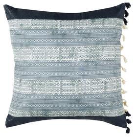 Linnet Pillow - Deep Blue / Grey