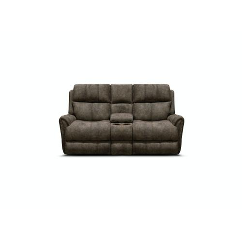 V9C85H Double Reclining Loveseat Console