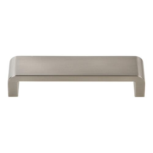 Platform Pull 5 1/16 Inch (c-c) - Brushed Nickel