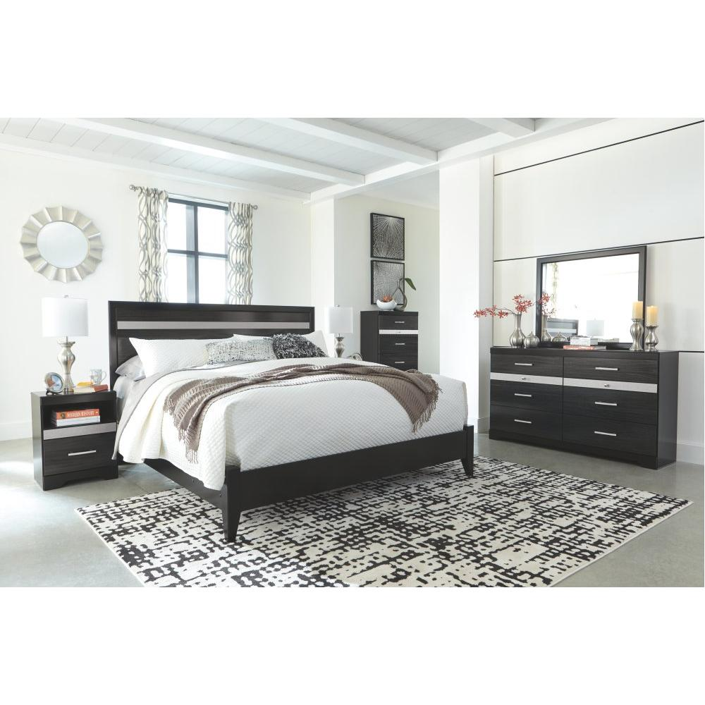 Starberry King Panel Bed