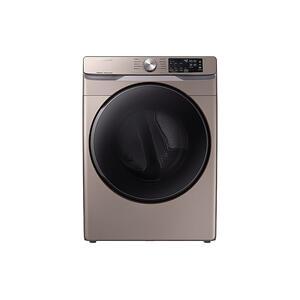 Samsung7.5 cu. ft. Electric Dryer with Steam Sanitize+ in Champagne