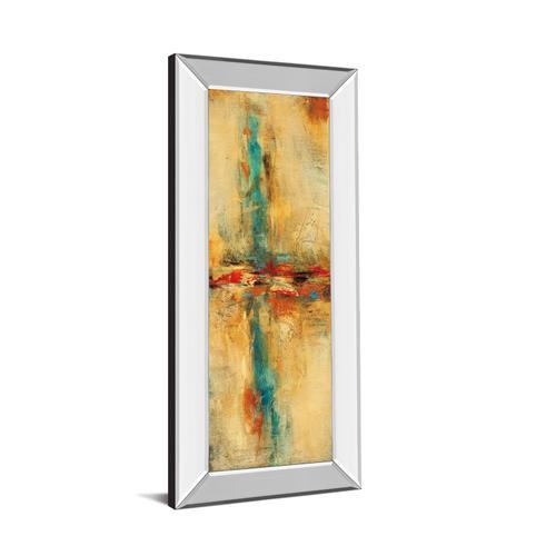 """Equilibrio Il"" By Nancy Villarreal Santos Mirror Framed Print Wall Art"