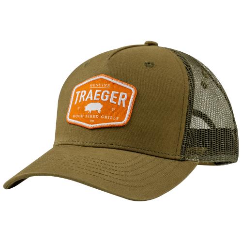 Traeger Certified Curved Brim Trucker Hat