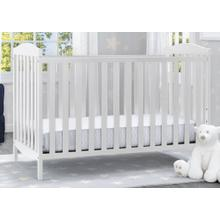 Capri 3-in-1-Crib (White) - White (100) / 124