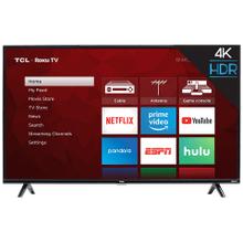 "TCL 50"" Class 4-Series 4K UHD HDR Roku Smart TV - 50S425"