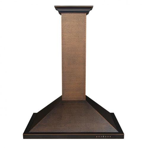 Zline Kitchen and Bath - ZLINE Designer Series Hand-Hammered Wall Mount Range Hood (8KBH) [Size: 30 inch]