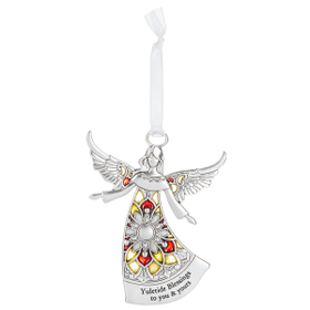 Angel Ornament - Yuletide Blessings to you & yours