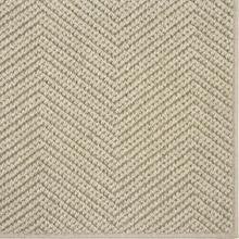 See Details - Wool Sisal Berber Drizzle 12'x15' / Leather Border