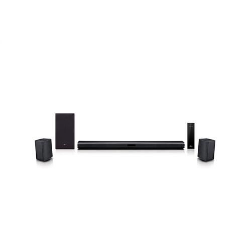 Gallery - LG SNC4R 420W Sound Bar w/ Bluetooth Streaming and Surround Sound Speakers