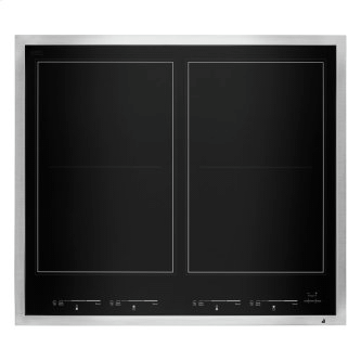 "24"" Lustre Stainless Induction Flex Cooktop"
