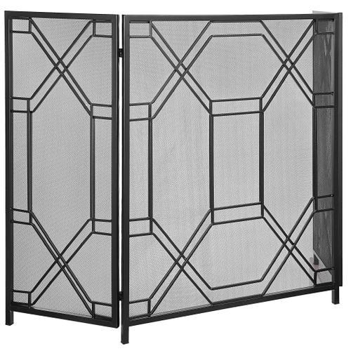 Uttermost - Rosen Fireplace Screen, Black