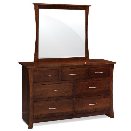 Simply Amish - Garrett Dresser Mirror - Express