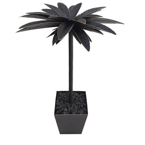 Large Oasis Hand Finished Palm Tree