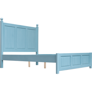 Beachfront Blue Bed, King