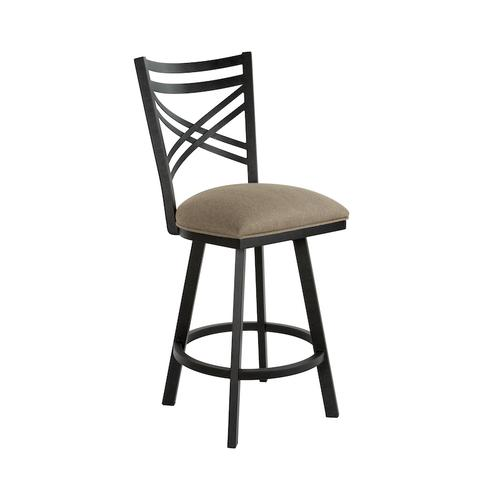 Wesley Allen - Raleigh B509H26S Swivel Back No Arms Bar Stool