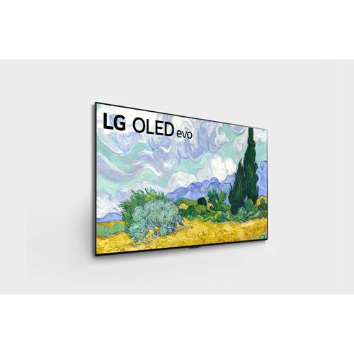LG - LG G1 55 inch Class with Gallery Design 4K Smart OLED evo TV w/AI ThinQ® (54.6'' Diag)