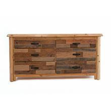 See Details - Laurel Hollow 6 Drawer Dresser