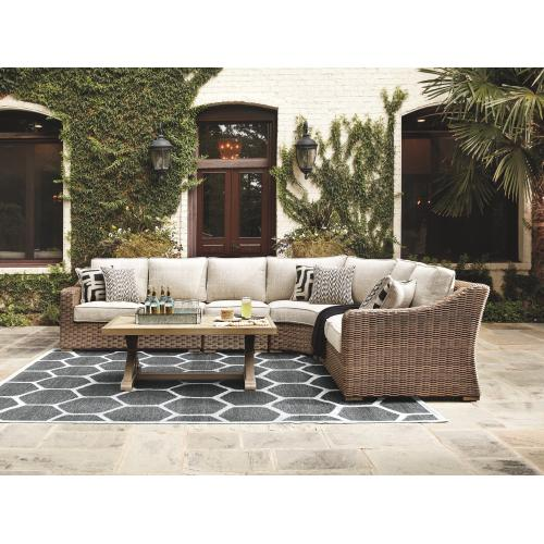 Signature Design By Ashley - Beachcroft 4-piece Outdoor Seating Set