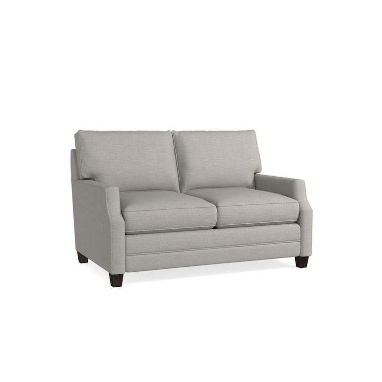 Studio Loft Cooper Loveseat, Arm Style Scoop