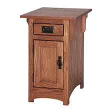 See Details - Mission Chairside Table with Door