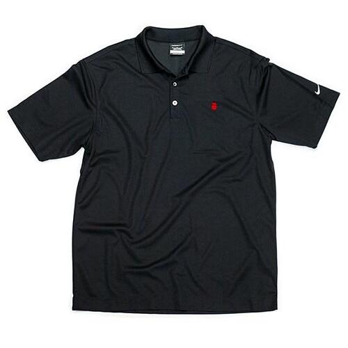 Nike Logo Golf Shirt - Men's Black