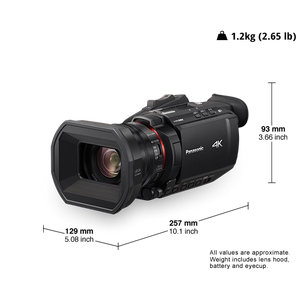 HC-X1500 4K/HD Camcorders