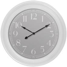 "22"" White Wall Clock"