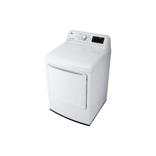 LG - 7.3 cu. ft. Gas Dryer with Sensor Dry Technology