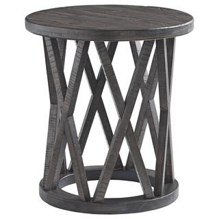 See Details - Round End Table