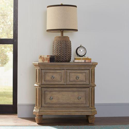 Liberty Furniture Industries - Opt Queen Panel Bed, Dresser & Mirror, Chest, Night Stand