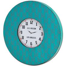 "Calabash I 33"" Oversize Contemporary Wall Clock"